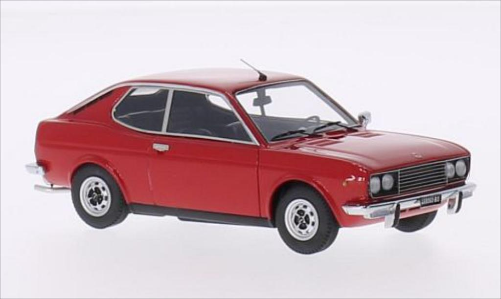fiat 128 miniature sport coupe sl 1300 rouge 1971 kess 1 43 voiture. Black Bedroom Furniture Sets. Home Design Ideas