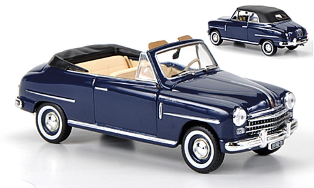fiat 1400 miniature cabriolet bleu 1950 norev 1 43 voiture. Black Bedroom Furniture Sets. Home Design Ideas