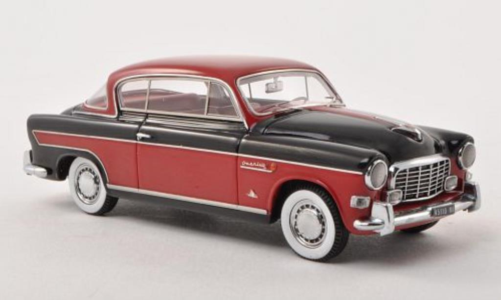 fiat 1900 miniature b gran luce coupe rouge noire 1957 neo 1 43 voiture. Black Bedroom Furniture Sets. Home Design Ideas