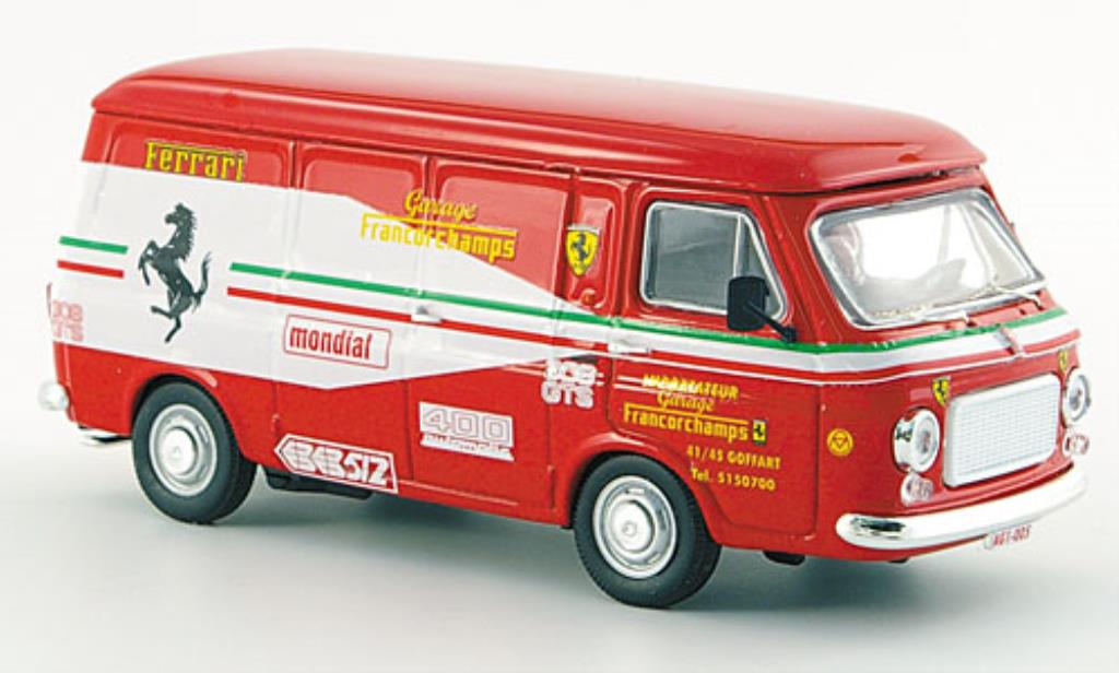 Fiat 238 1/43 Rio Garage Francorchamps Ferrari Importeur 1972 diecast model cars