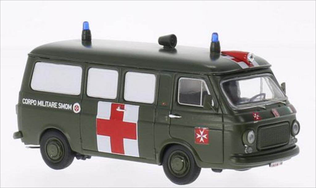 Fiat 238 1/43 Rio Militarambulanz S.M.O.M.Sovrano Militare Ordine di Malta miniature