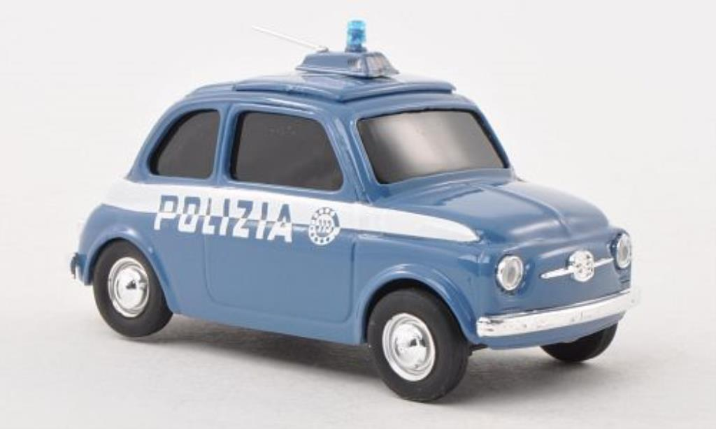 Fiat 500 1/43 Brumm Carabinieri diecast model cars