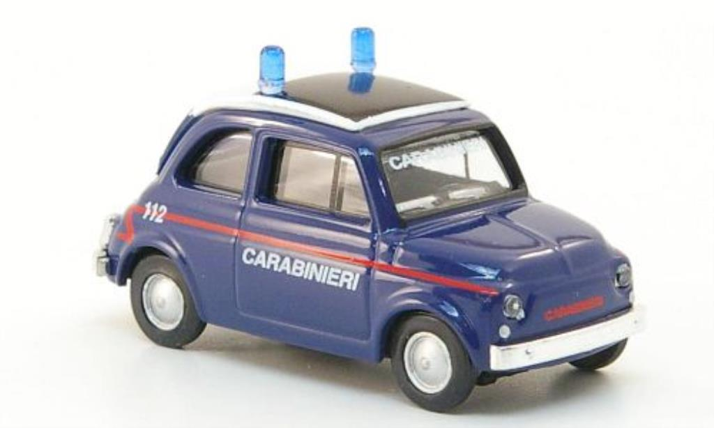 Fiat 500 1/87 Schuco Carabinieri diecast model cars