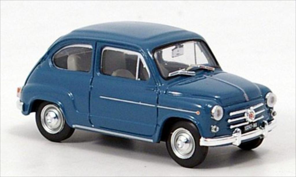 fiat 600 d blue 1960 brumm diecast model car 1 43 buy sell diecast car on. Black Bedroom Furniture Sets. Home Design Ideas