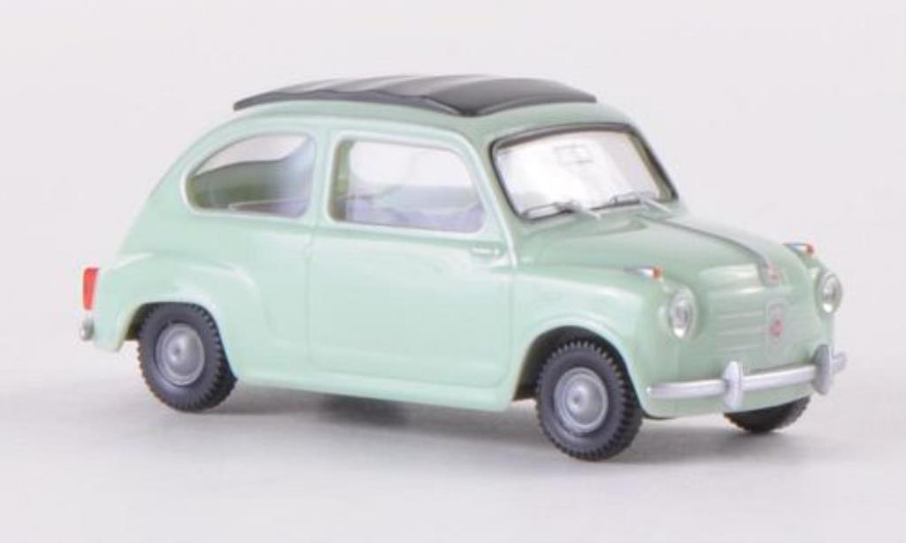 Fiat 600 1/87 Wiking grun