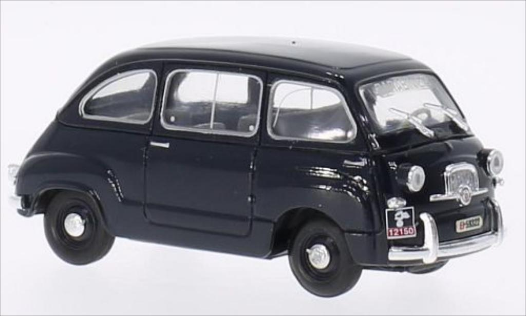 fiat 600 multipla carabinieri 1956 brumm modellauto 1 43. Black Bedroom Furniture Sets. Home Design Ideas