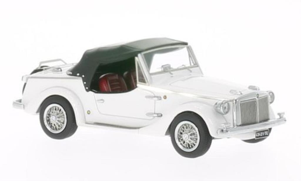 Fiat 850 1/43 Kess Siata Spring Spider Soft-Top blanche 1967 miniature