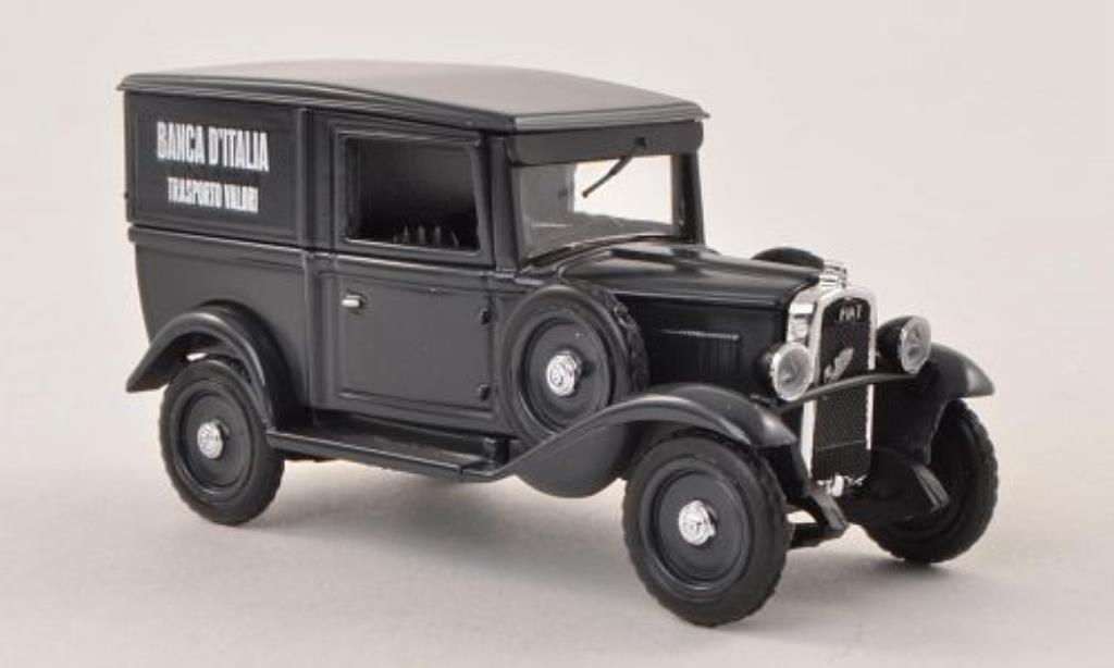 Fiat Balilla 1/43 Rio Furgone Banca DItalia - Trasporto Valori 1936 miniature