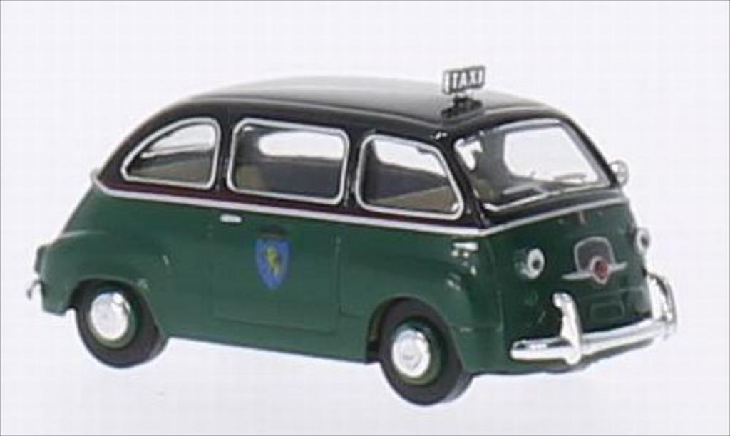 fiat multipla miniature taxi torino brekina 1 87 voiture. Black Bedroom Furniture Sets. Home Design Ideas