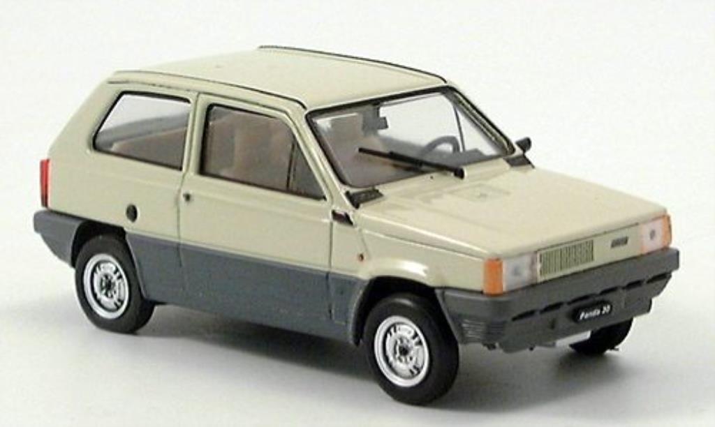 fiat panda 30 beige 1980 brumm modellauto 1 43 kaufen verkauf modellauto online. Black Bedroom Furniture Sets. Home Design Ideas