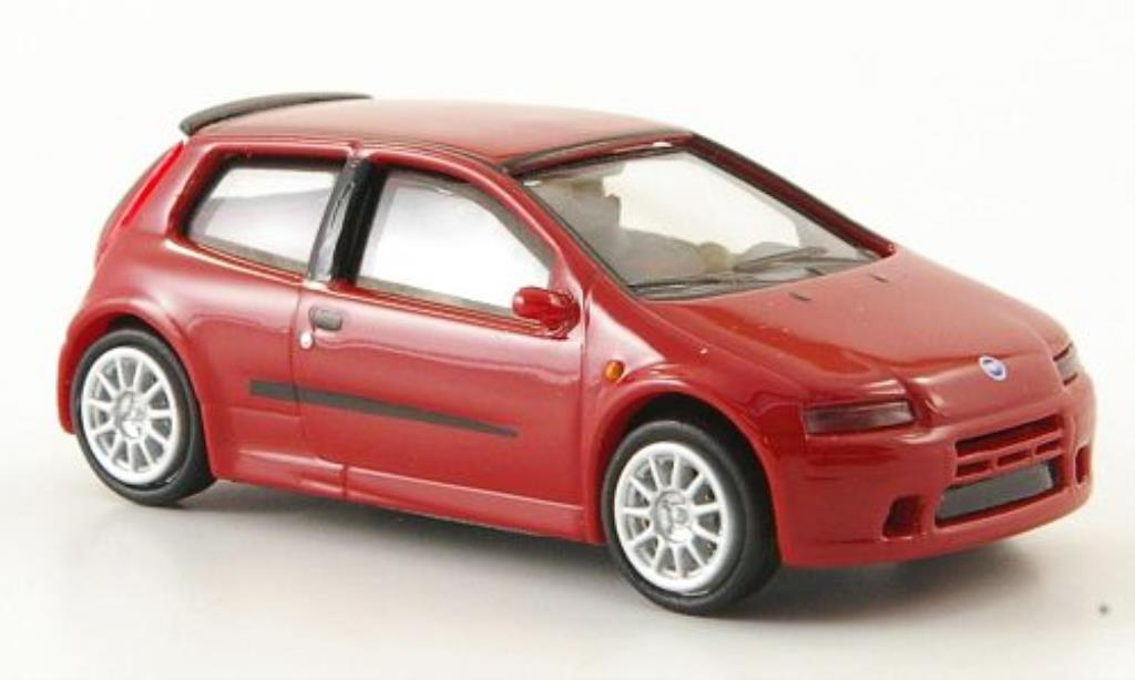 fiat punto miniature rouge 2003 ricko 1 87 voiture. Black Bedroom Furniture Sets. Home Design Ideas