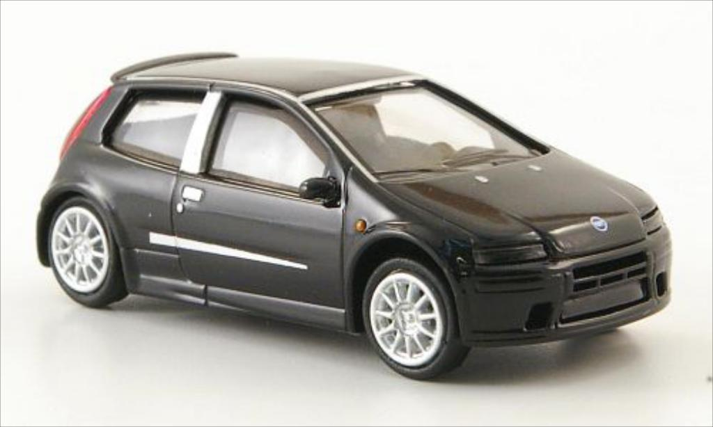 Fiat Punto 1/87 Ricko black 2003 diecast model cars