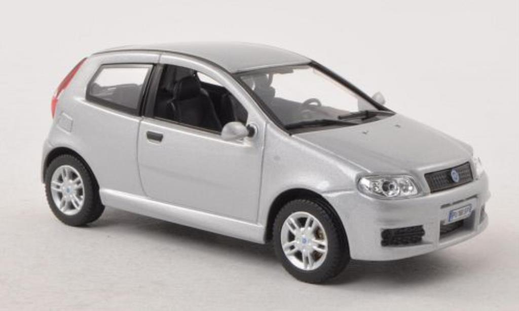 Fiat Punto Sporting Gray 3 Turer 2003 Norev Diecast Model