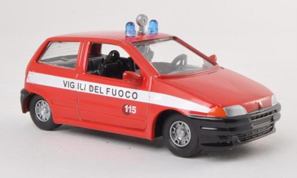 fiat punto vigili del fuoco feuerwehr i 1995 mcw. Black Bedroom Furniture Sets. Home Design Ideas