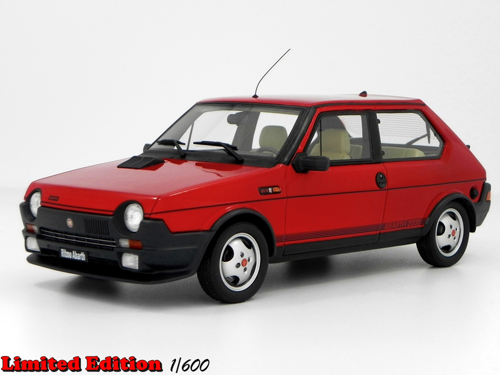 fiat ritmo 125 tc abarth lm089 red laudoracing models diecast model car 1 18 buy sell diecast. Black Bedroom Furniture Sets. Home Design Ideas