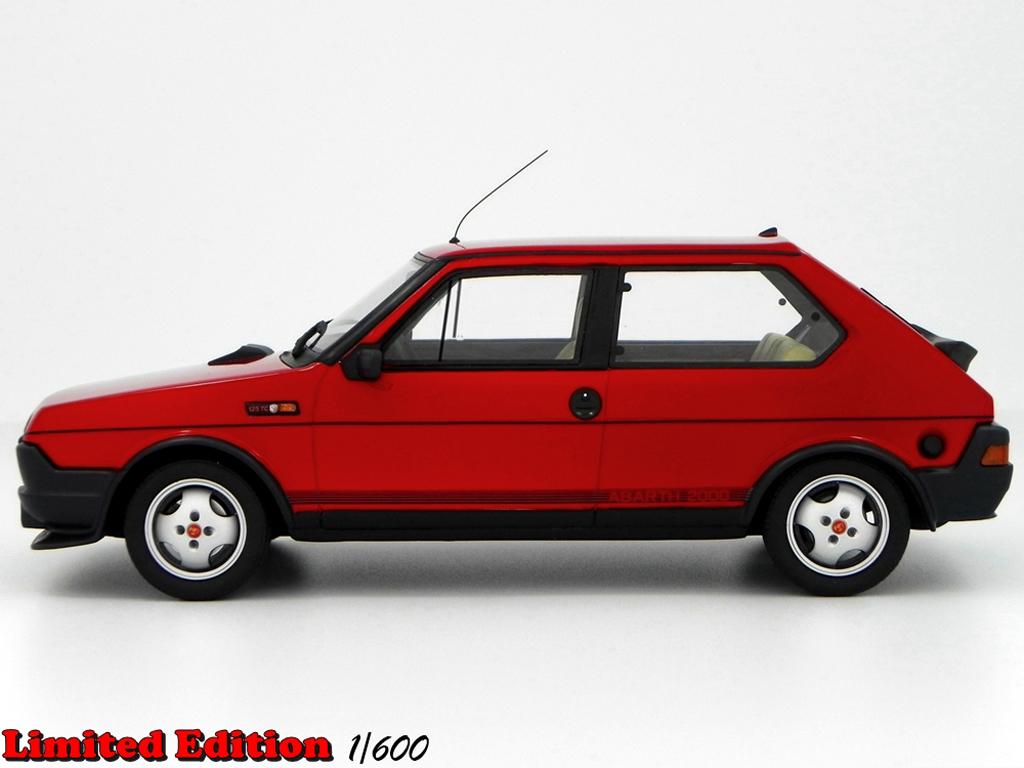fiat ritmo 125 tc miniature abarth lm089 rouge laudoracing models 1 18 voiture. Black Bedroom Furniture Sets. Home Design Ideas