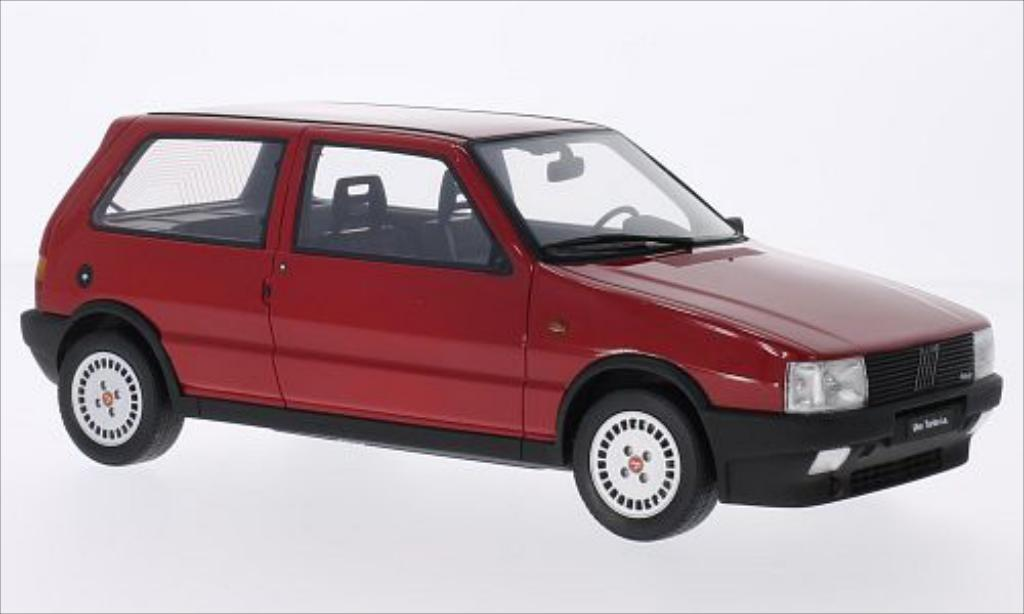 fiat uno turbo i e red 1987 mcw diecast model car 1 18. Black Bedroom Furniture Sets. Home Design Ideas