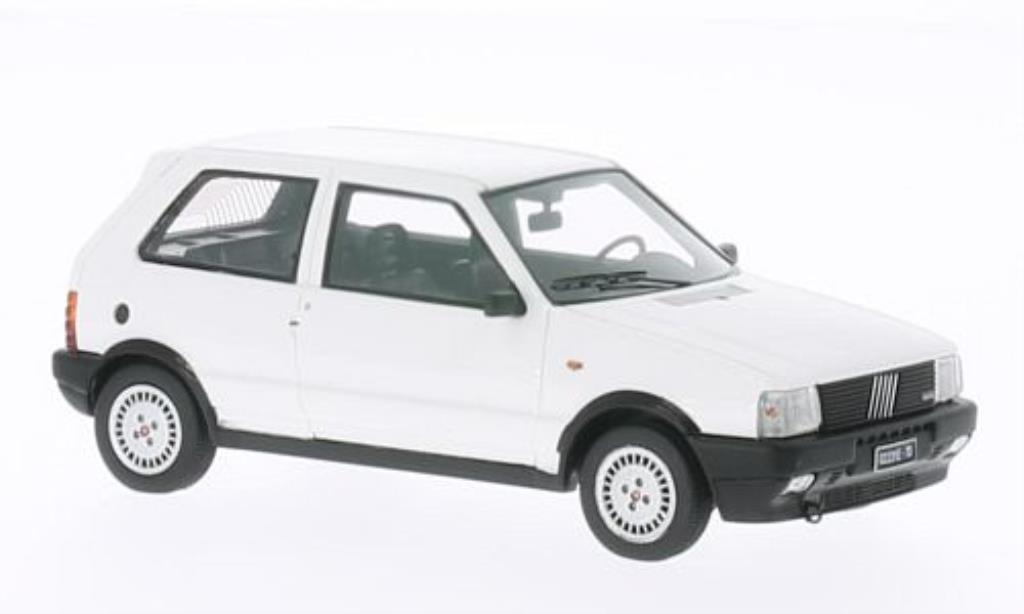 Fiat Uno 1/43 Kess Turbo i.e. blanche 1985 miniature