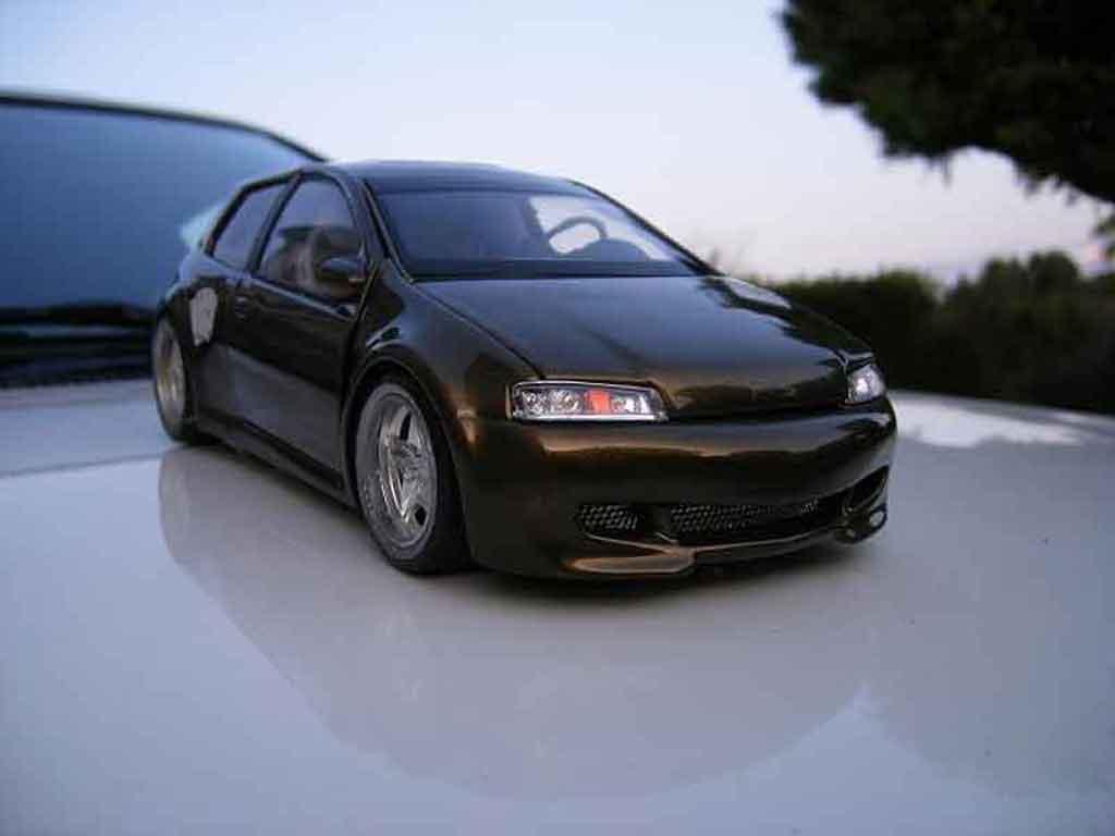 Fiat Punto gt tuning Ricko. Fiat Punto gt miniature miniature 1/18