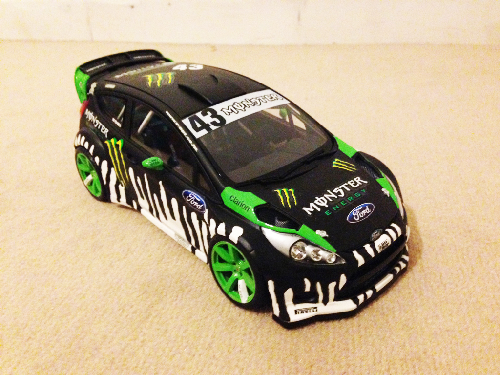 Ford Fiesta WRC 1/18 Minichamps Ken Block