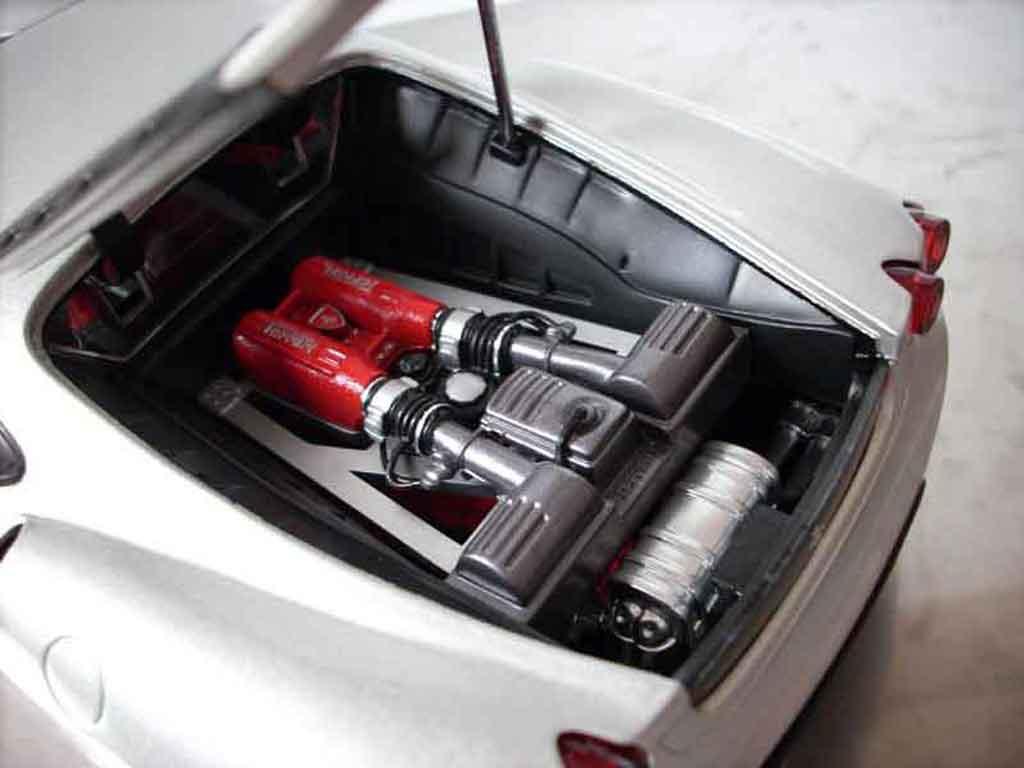 Ferrari F430 1/18 Hot Wheels grigia