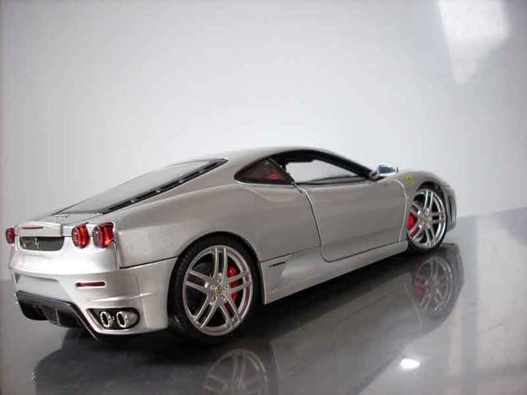 ferrari f430 grau hot wheels modellauto 1 18 kaufen verkauf modellauto online. Black Bedroom Furniture Sets. Home Design Ideas