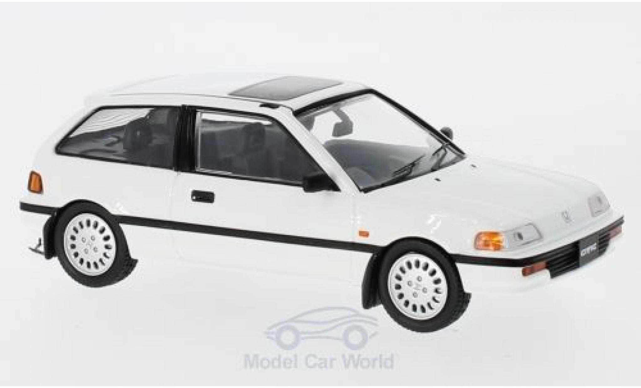 Honda Civic 1/43 First 43 Models white RHD 1987