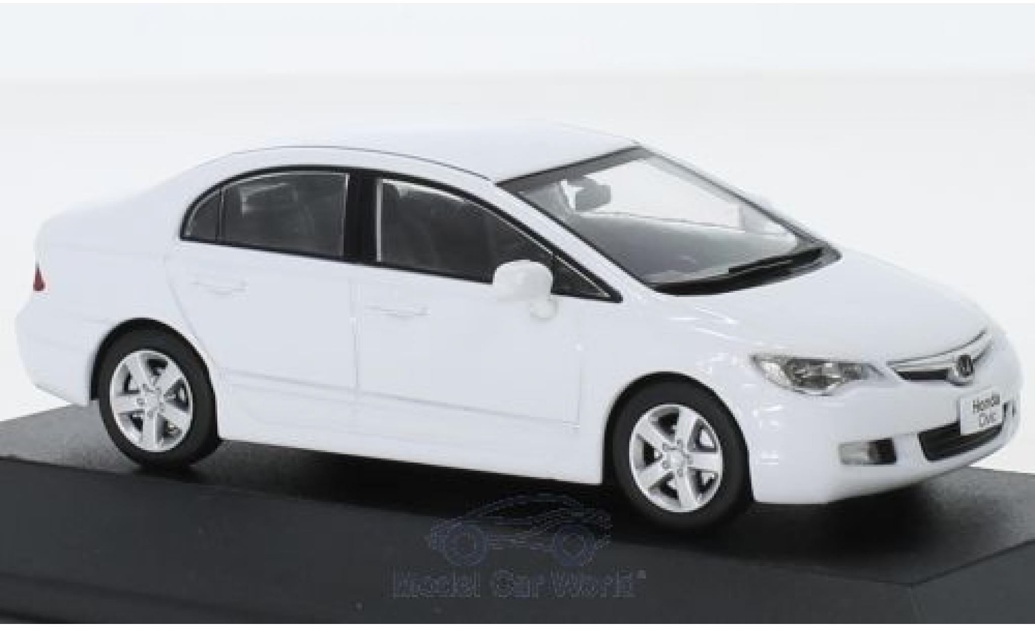 Honda Civic 1/43 First 43 Models white RHD 2006
