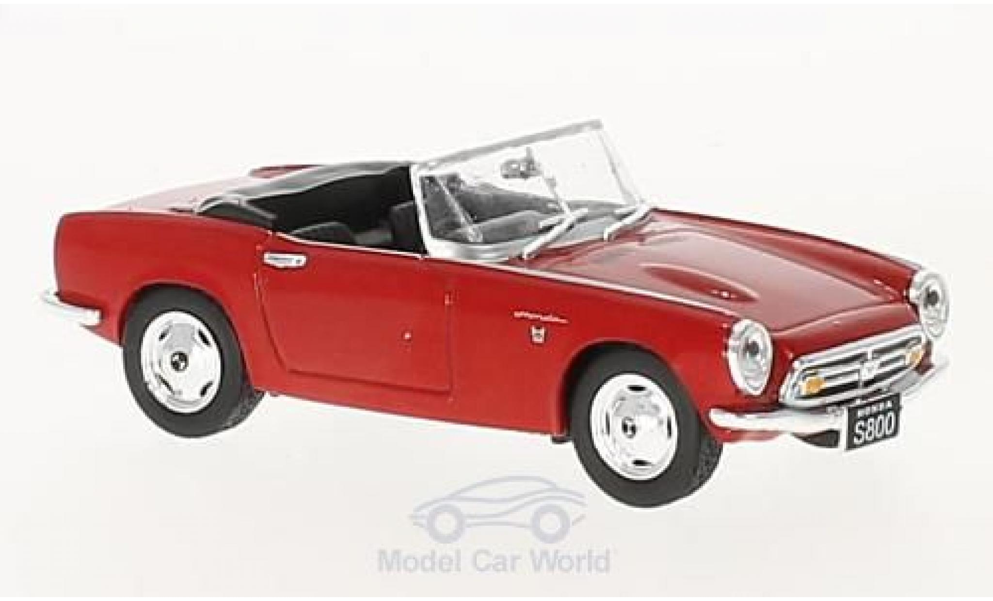 Honda S800 1/43 First 43 Models red RHD 1966 offen