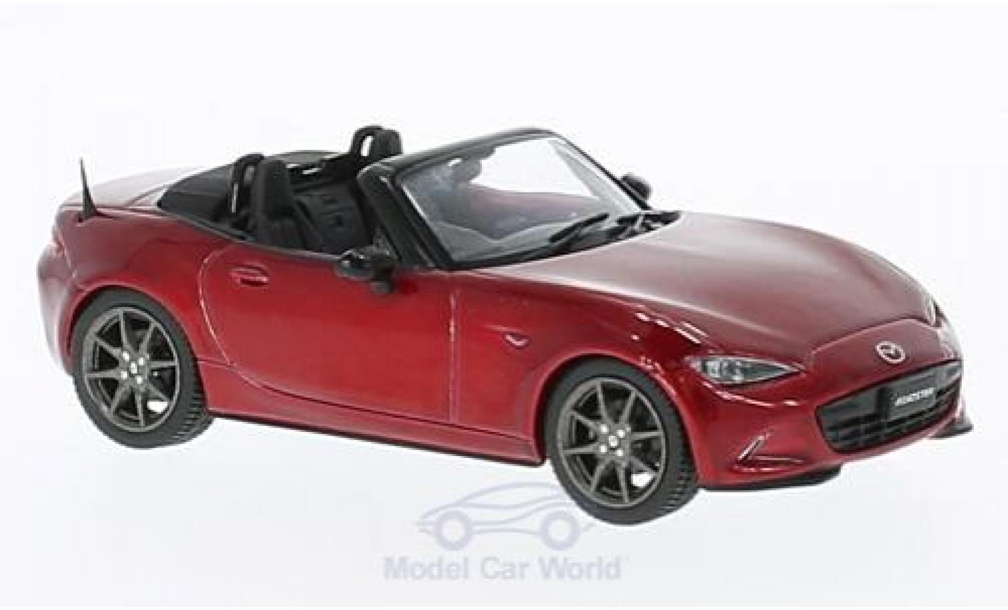 Mazda MX 1/43 First 43 Models -5 Roadster metallise rouge RHD 2015