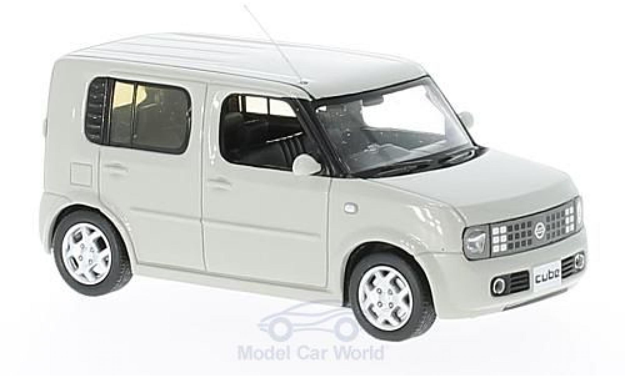 Nissan Cube 1/43 First 43 Models grise RHD 2003