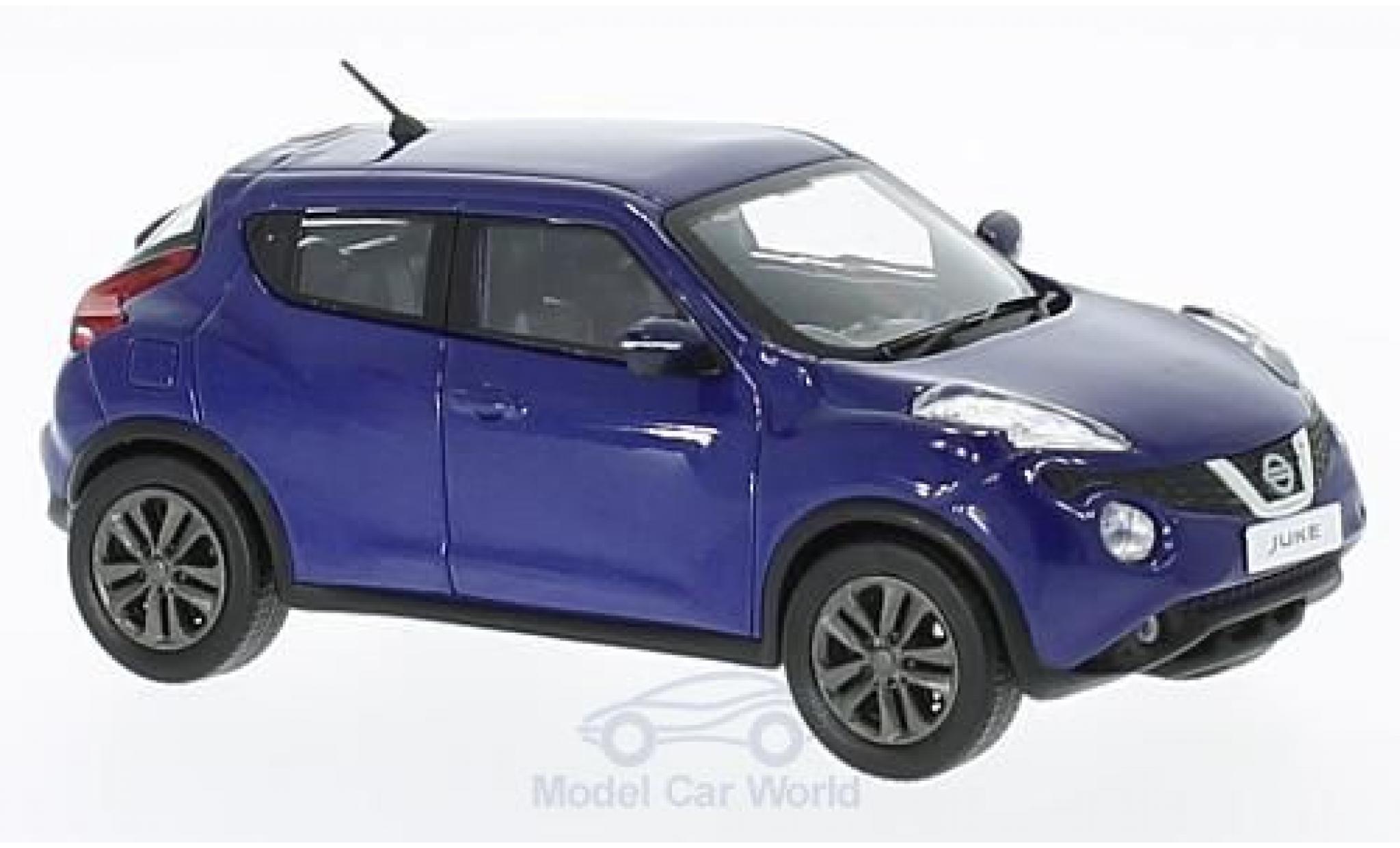 Nissan Juke 1/43 First 43 Models bleue RHD 2015