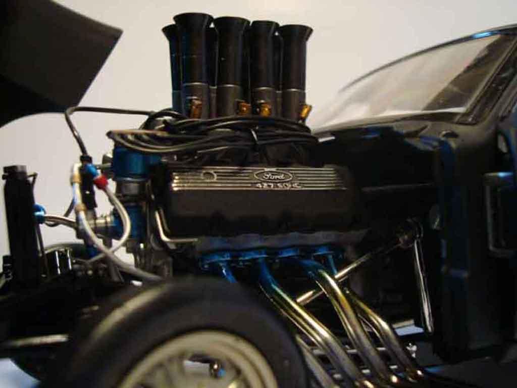 Ford Mustang 1967 1/18 GMP drag gasser pork chop flat black