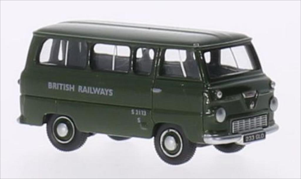 Ford 400E 1/76 Oxford Minibus RHD British Railways miniature