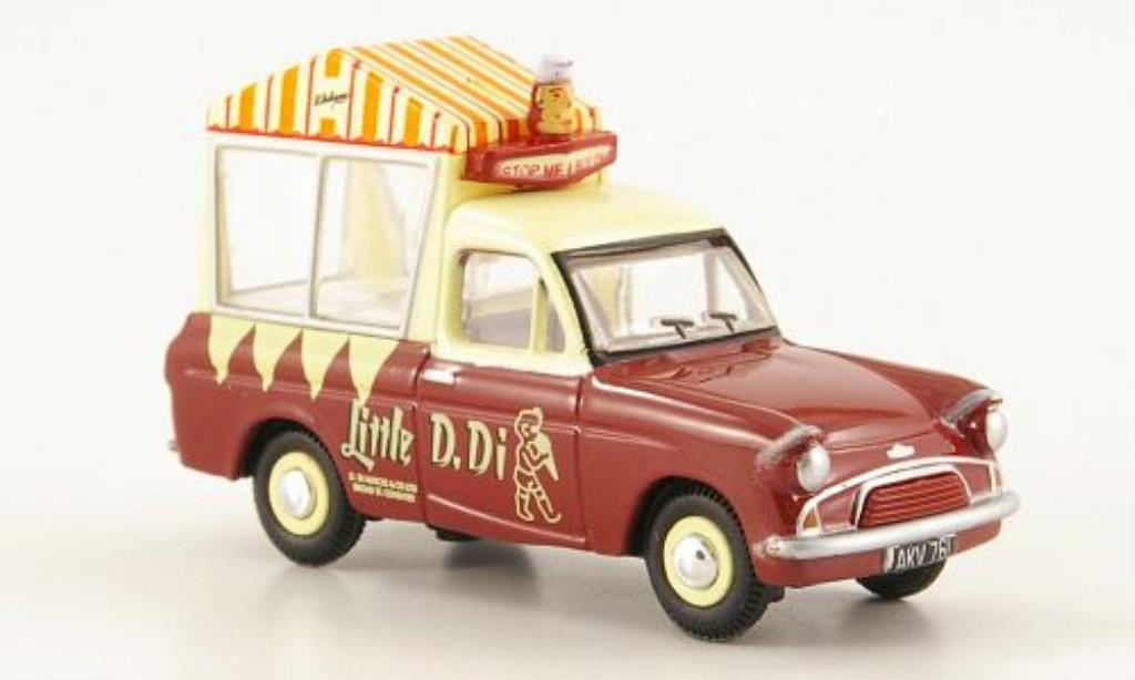 Ford Anglia 1/76 Oxford Di Mascios Icecream Van miniature