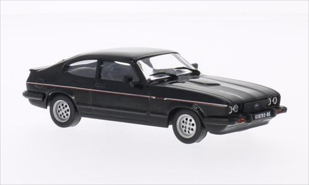 ford capri mk iii schwarz 1982 mcw modellauto 1 43 kaufen verkauf modellauto online. Black Bedroom Furniture Sets. Home Design Ideas