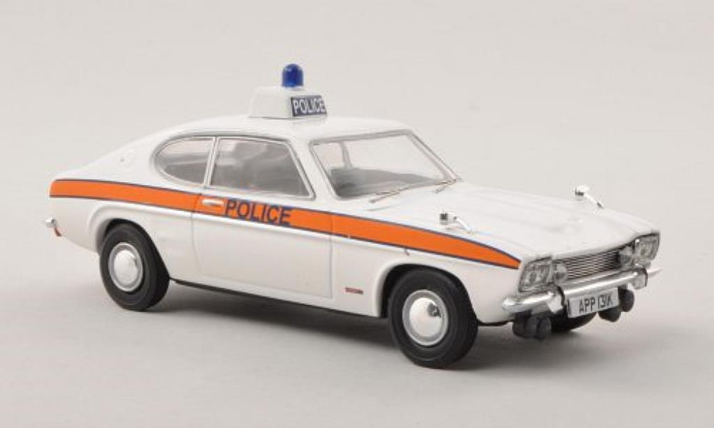 Ford Capri 1/43 Vanguards Mk1 3000GT Thames Valley Police Polizei (GB) miniature