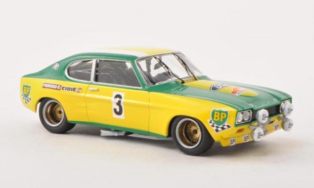 Ford Capri 1/43 Trofeu MKI 2600 No.3 BP Lyon-Charbonnieres 1972 miniature