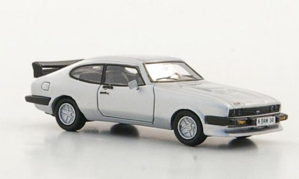 Ford Capri 1/87 Neo MkIII Turbo grise 1981 miniature