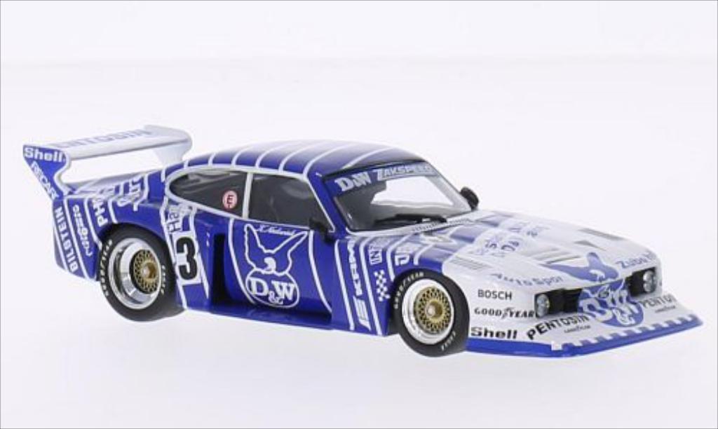 Ford Capri 1/43 Minichamps Turbo Gr.5 Team Zakspeed D&W DRM Nurburgring 1982 miniature