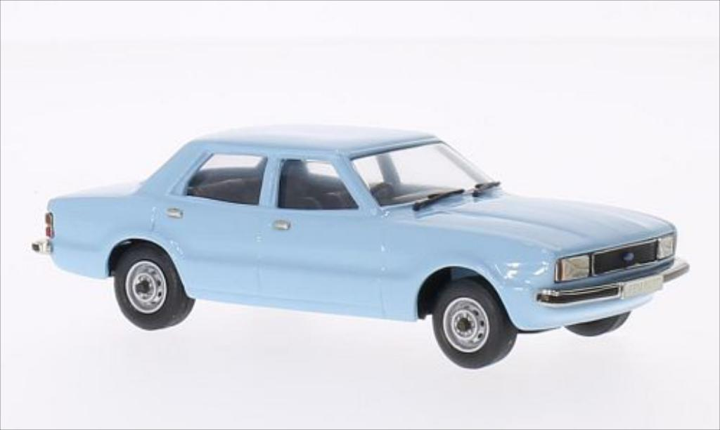 Ford Cortina 1/43 Brooklin MKIV 1.6L 4-door Saloon bleu 1979 miniature