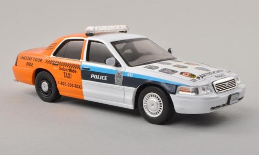 Ford Crown 1/43 IXO Victoria Arlington Police - Sober Ride Taxi Polizei (USA) 2012 miniature