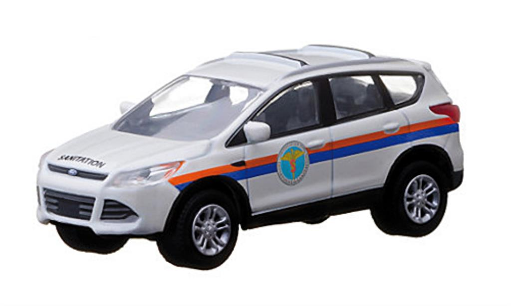 Ford Escape 1/64 Greenlight New York Department of Sanitation 2013 diecast model cars