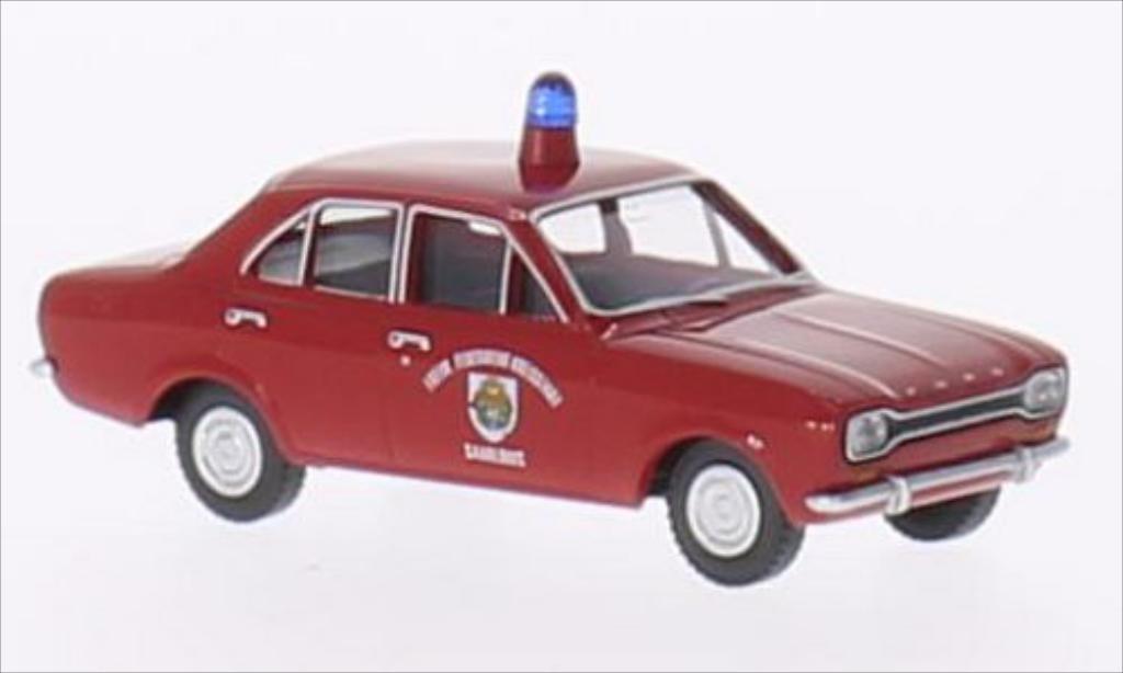 Ford Escort 1/87 Wiking I Freiwillige Feuerwehr Saarlouis modellautos