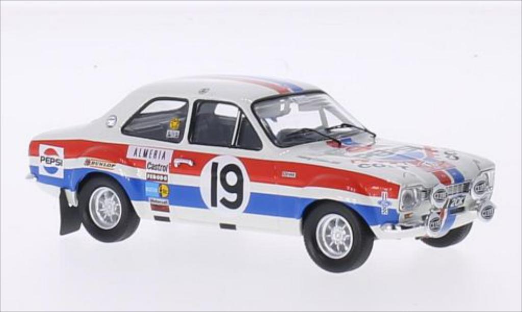 Ford Escort 1/43 Trofeu I  1600 No.19 Pepsi Rallye Monte-Carlo 1972 /H.Liddon diecast