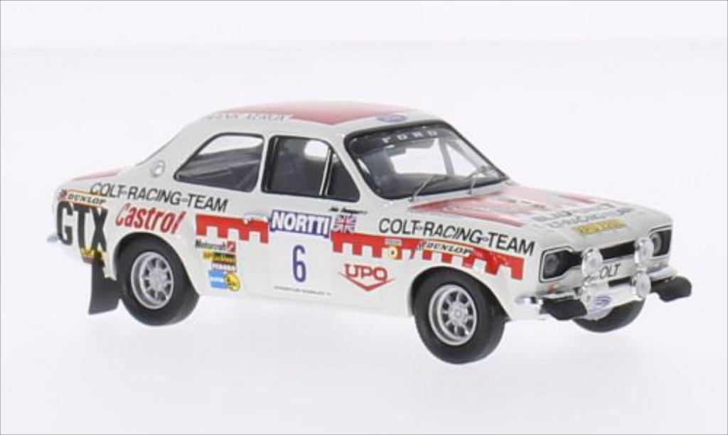 Ford Escort 1/43 Trofeu I  1600 No.6 Colt Racing Team 1000 Lakes Rallye 1974 /J.Davenport miniature