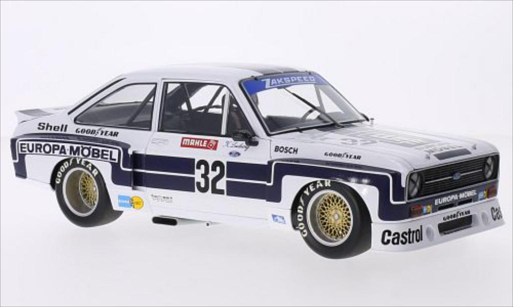 Ford Escort 1/18 Minichamps II  1800 No.32 Europa Mobel DRM Nurburgring 1976 miniature