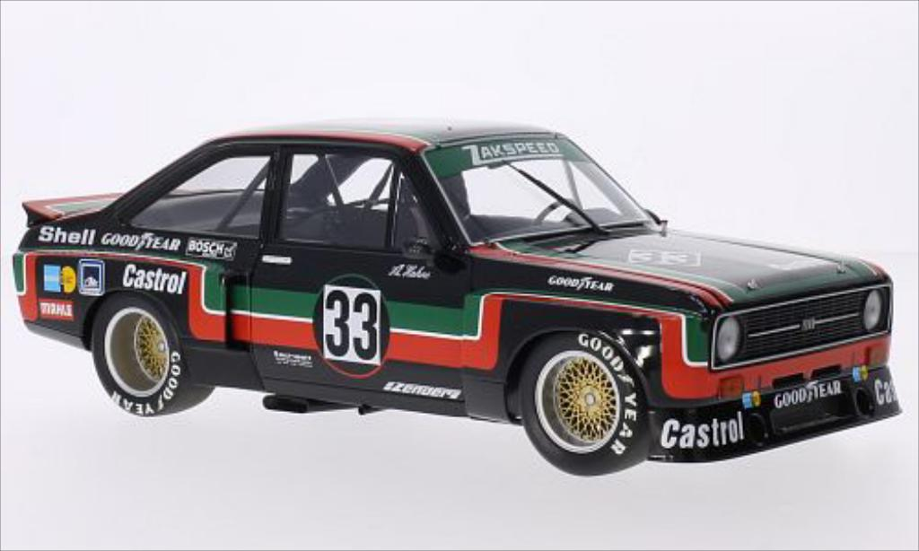 Ford Escort 1/18 Minichamps II  1800 No.33 Zakspeed Castrol DRM ADAC Supersprint 1976 miniature