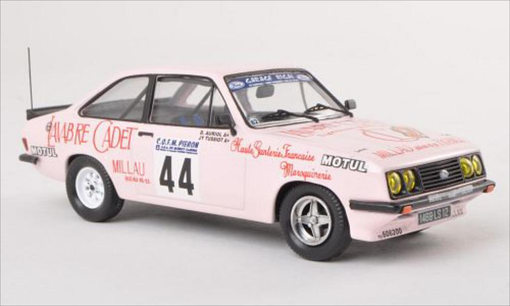 Ford Escort 1/43 Trofeu II  2000 No.44 Rallye Ronde du Quercy 1982 /J.Tussiot modellautos