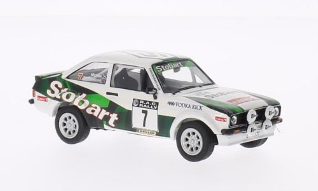 Ford Escort 1/43 Vanguards Mk2 1800 No.7 Eddy Stobart RAC Rally 2006 /A.Richardson miniature